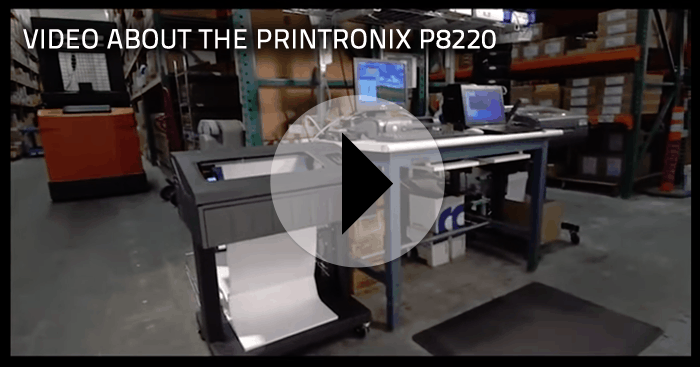 printronix p8220 video