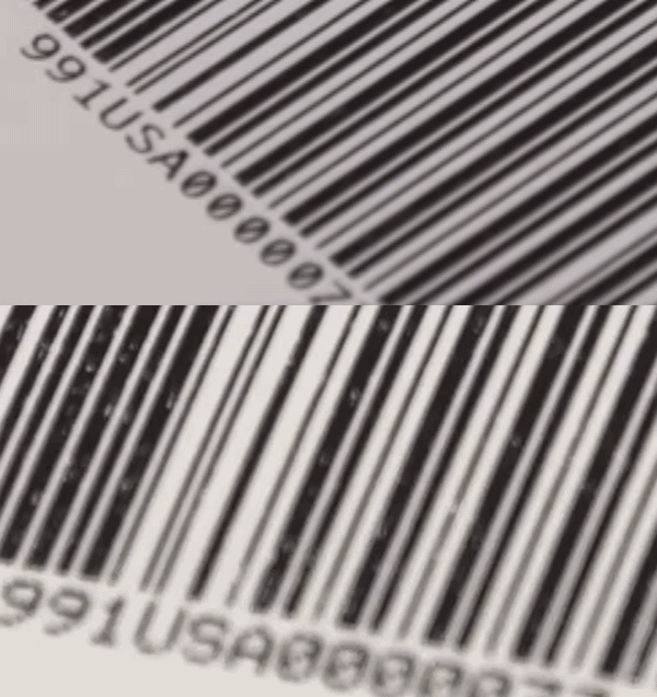 compare barcode quality